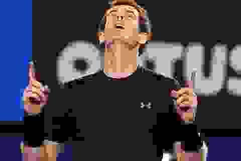 Andy Murray giành vé đầu tiên vào chung kết