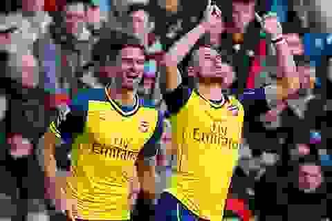 Chung kết FA Cup đang đợi Arsenal