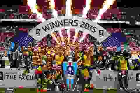 Arsenal ngập tràn hạnh phúc trong lần thứ 12 vô địch FA Cup