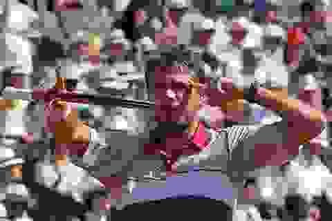 Wawrinka vẫn phải đợi Murray hoặc Djokovic cho trận chung kết