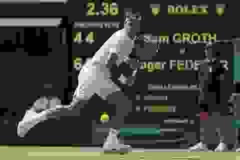Federer vào vòng bốn, ĐKVĐ đơn nữ Kvitova bị loại