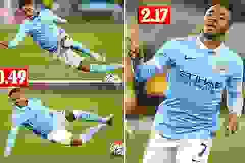 """""""Bom tấn"""" Sterling mất 137 giây để tạo dấu ấn với Man City"""