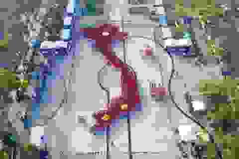 Cần Thơ: 1.500 sinh viên tham gia xếp hình bản đồ Việt Nam