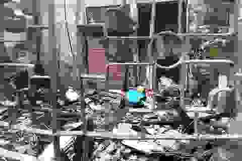 Hà Nội: Hỏa hoạn thiêu rụi ngôi nhà của đôi vợ chồng trẻ