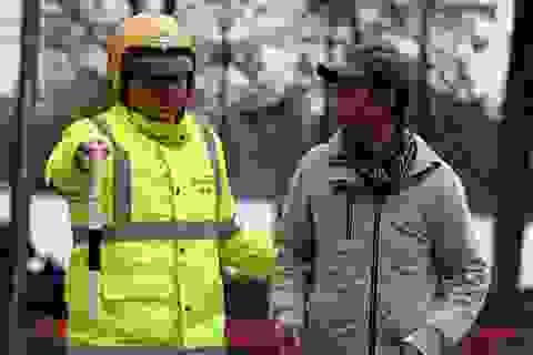 Nhiều người đi bộ hôm nay đã bị CSGT Hà Nội nhắc nhở