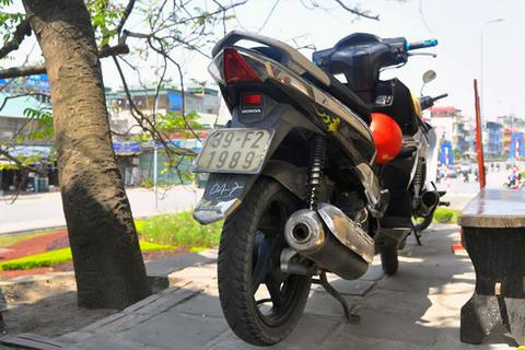 Xe trộm tại Thanh Hóa, đeo biển Đồng Nai, bị bắt ở Hà Nội