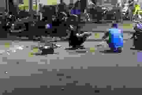 Hà Nội: Can đánh nhau, một Trung úy công an bị đâm trọng thương