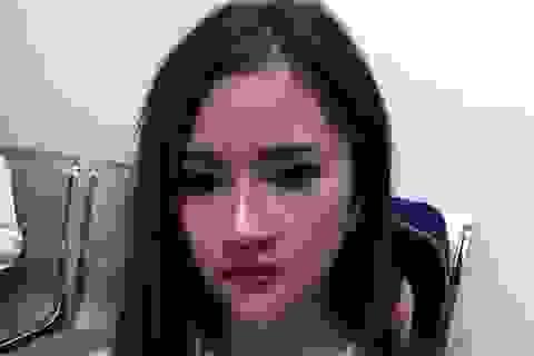 """Hà Nội: Hot girl vừa đi """"bay"""" về thì """"đụng"""" 141"""