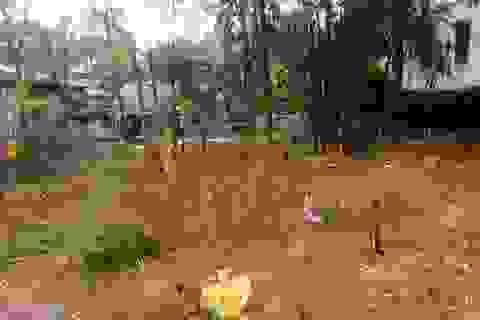 Chôn lấp rác thải y tế chưa qua xử lý ngay trong bệnh viện