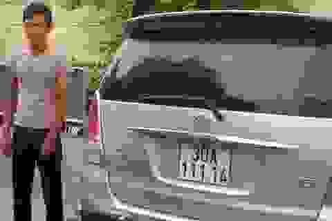 Trộm ô tô ở Tuyên Quang, lái về Hà Nội để tiêu thụ thì bị bắt