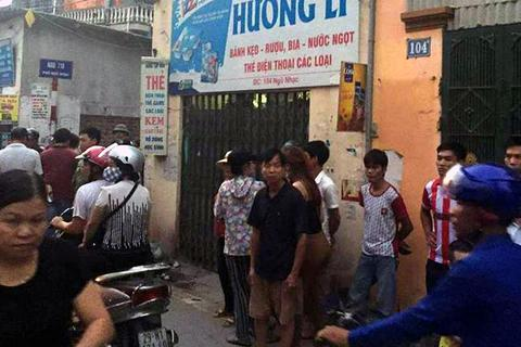 Hà Nội: Tên cướp manh động cứa cổ chủ tiệm tạp hóa