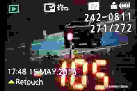 Vụ tông xe CSGT để chạy trốn: Thu giữ chiếc xe vi phạm