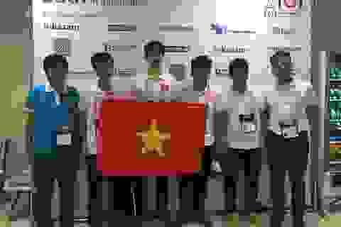 Đội tuyển VN đoạt giải cao cuộc thi Olympic Tin học quốc tế 2016