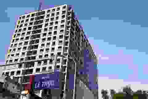 Phạt chủ đầu tư tòa nhà 8B Lê Trực 100 triệu đồng