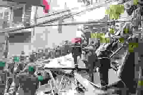 Những vụ sập nhà hãi hùng tại Hà Nội