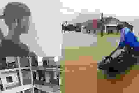 Nước dâng ngập nóc nhà ở miền Trung, bé gái người Việt mang thai tại Trung Quốc