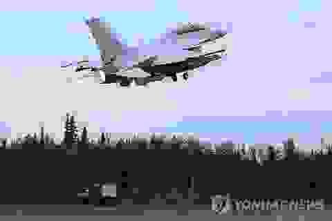 Hàn Quốc điều động chiến đấu cơ ứng phó Triều Tiên