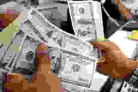 Giá USD đồng loạt tăng kịch trần