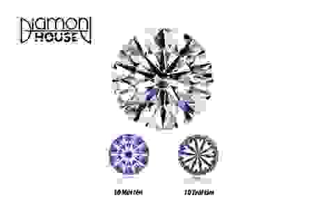 Kim cương D-10 sáng và quý hiếm nhất thế giới