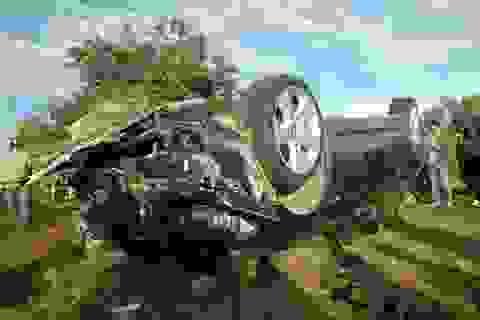 Bắt tạm giam 4 tháng thượng úy CSGT lái BMW tông chết 2 dân quân