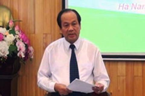 Hà Nam có Bí thư Tỉnh ủy và Chủ tịch UBND tỉnh mới