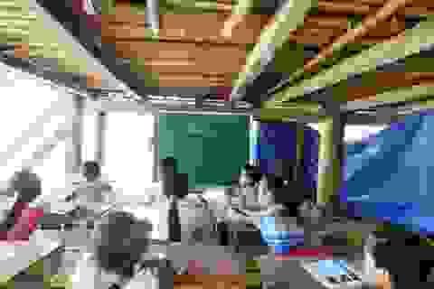Thanh Hóa: Hơn 4.300 phòng học tạm, bán kiên cố