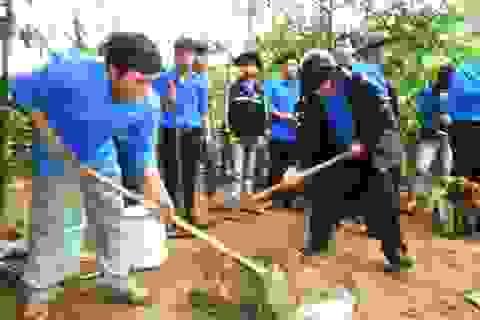Hơn 600 đoàn viên dự lễ phát động Tuần lễ Quốc gia nước sạch và vệ sinh môi trường