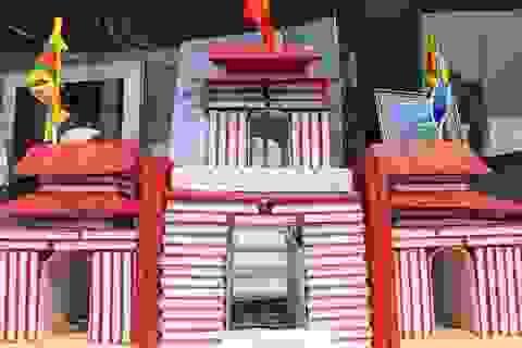 Độc đáo mô hình các di sản qua những cuốn sách