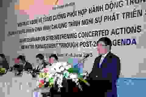 Tăng cường hành động trong bảo vệ tài nguyên nước