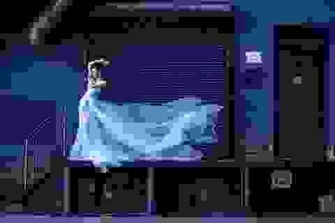 Đinh Ngọc Diệp làm cô dâu giữa New York