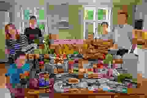 Các gia đình trên thế giới ăn gì?