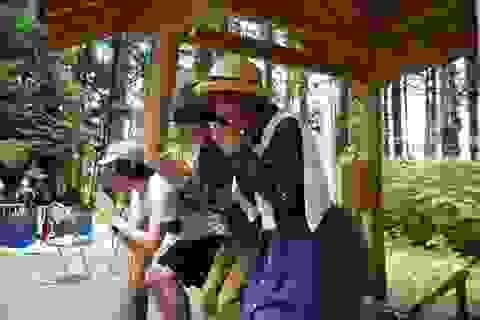 Ngôi đền thiêng giúp người Nhật... chữa bệnh trĩ