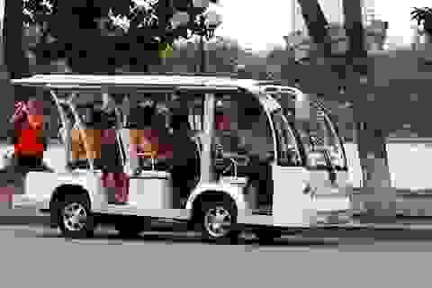 Hải Phòng đưa xe điện vào phục vụ khách du lịch vào Tết Ất Mùi