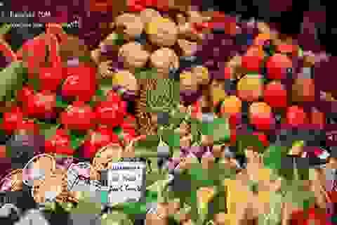 """""""Đánh thức"""" mọi giác quan với khu chợ truyền thống lớn nhất Châu Âu"""