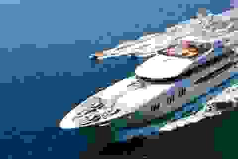 Choáng ngợp với siêu du thuyền có giá gần 1.300 tỷ đồng