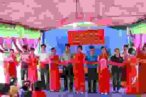 Khánh thành công trình phòng học Dân trí thứ 3 tại Nà Cóc, Lai Châu