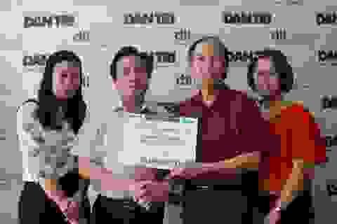 Giám đốc BV Nội tiết Trung ương Trần Ngọc Lương ủng hộ Quỹ Nhân ái 50 triệu đồng