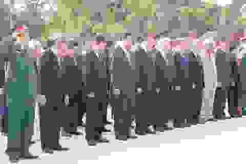 Lãnh đạo Đảng, Nhà nước viếng nghĩa trang Liệt sĩ thành phố