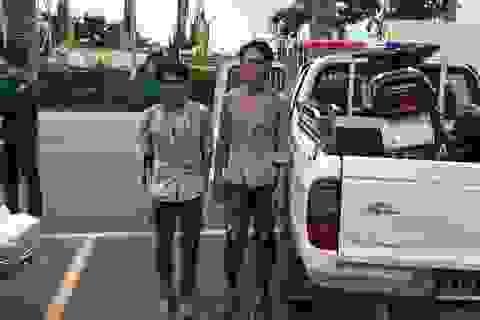 CSGT truy bắt 2 tên cướp ở cửa ngõ Sài Gòn