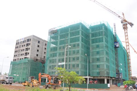 CEO Group cất nóc toà thứ 2 dự án nhà ở xã hội Bamboo Garden