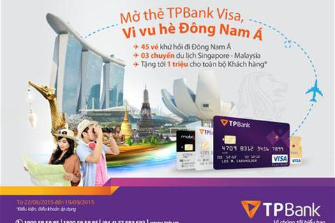 Cơ hội du lịch Đông Nam Á trong tầm tay cùng TPBank