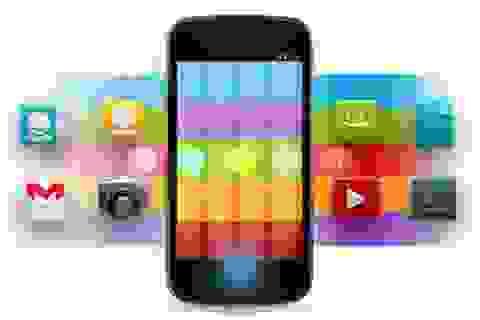 """Số lượng ứng dụng trên Android lần đầu """"vượt mặt"""" iOS"""