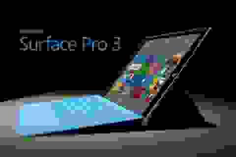 Doanh thu Microsoft từ máy tính bảng Surface bất ngờ tăng mạnh