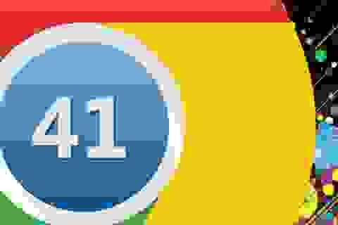 Trình duyệt Chrome 41 trình làng với hàng loạt lỗi được vá