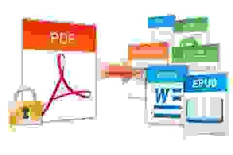 Chuyển đổi file văn bản PDF sang Word để dễ dàng chỉnh sửa nội dung