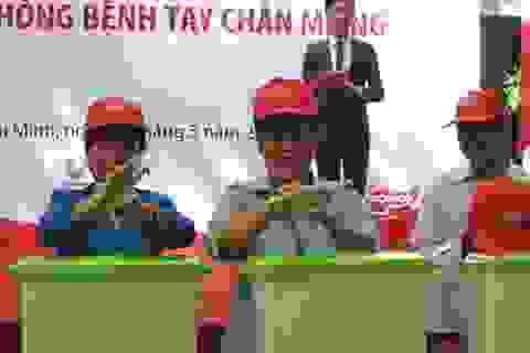 Bộ trưởng Y tế kêu gọi rửa tay, phòng bệnh truyền nhiễm
