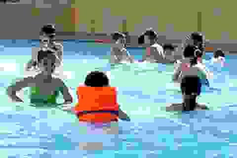 Nhiều bể bơi có hàm lượng clo dư thừa