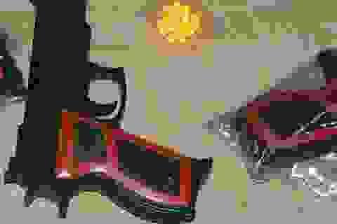 Hỏng mắt do súng đồ chơi