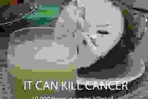 """""""Mãng cầu xiêm chữa ung thư?"""": Chưa có báo cáo thuyết phục"""