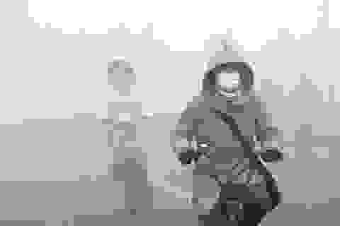 Cảnh báo sức khỏe từ sương mù